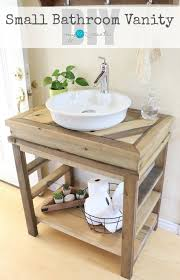 how to build your own small bathroom vanity free plans and picture