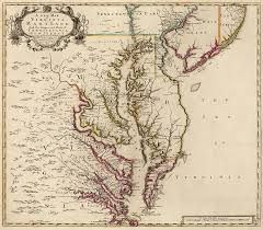 map of maryland antique map of maryland and virginia by senex 1719 drawing