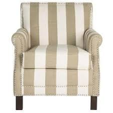 Linen Club Chair Safavieh Easton Olive And White Linen Club Arm Chair Mcr4572k