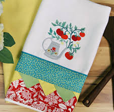 Kitchen Towel Embroidery Designs Machine Embroidery Designs At Embroidery Library Embroidery Library