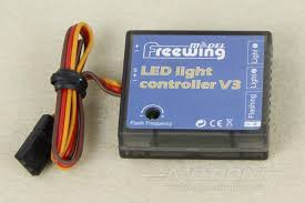freewing led light controller v3 motion rc