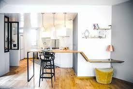 cuisine pour appartement cuisine pour petit espace appartement mange debout sur mesure 3 en 1