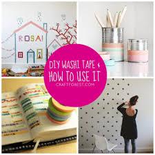 diy fabric washi craft projects