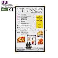 menu covers wholesale a4 menu cover clear wholesale menu covers suppliers alibaba