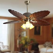 leaf ceiling fan with light buy fan l fashion antique vintage banana leaf ceiling fan light