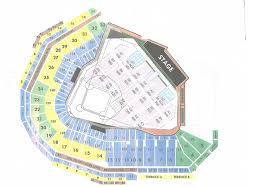Fenway Park Seating Map Journey