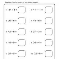division worksheet 2