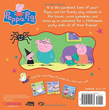 peppa u0027s halloween party peppa pig 8x8 eone 9780545925433