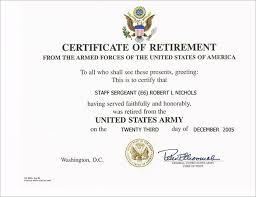 10 retirement certificate templates u2013 free pdf format download