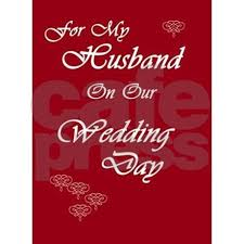 For My Husband On Our For My Husband On Our Wedding Day Greeting Card By Nikiclix