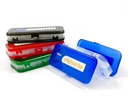 pencil boxes bazic deck organizer box 8 inch assorted
