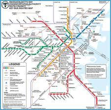 map of boston subway boston subway map overlay archives travel map