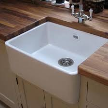 Belfast Sink In Bathroom Butler U0026 Rose Fireclay Ceramic Belfast Sink With Barbier Tap