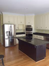 resurface kitchen cabinets before and after refinishing oak kitchen cabinets refinish oak cabinets to white