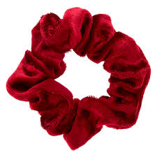 hair scrunchie mini burgundy velvet hair scrunchie s us