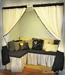 the reading nook project the curtains creatively living blog