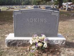 headstones houston headstones headstone of and esther houston adkins