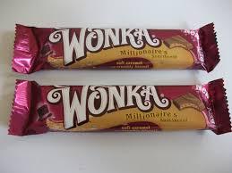 wonka bars where to buy kev s snack reviews nestlé wonka millionaire s shortbread bar review
