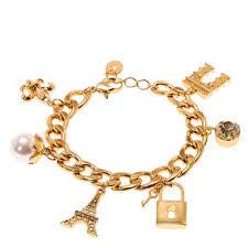 Paris Themed Charm Bracelet Charm Bracelets Claire U0027s
