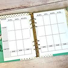 25 unique free planner pages ideas on pinterest schedule