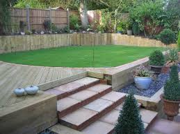 ideas for using railway sleepers in the garden