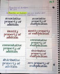 middle math madness properties of math