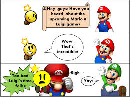 mario luigi dream team comic mariofanforevah deviantart