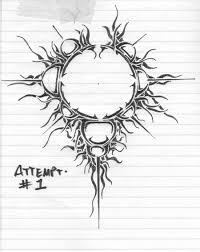 tribal mandelbrot tattoo design by davidian