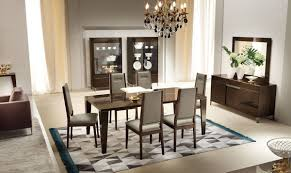 Modern Dining Room Tables Italian Soprano Italian Modern Extendable Dining Set