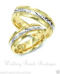 2 wedding rings mens two tone wedding rings mens 2 tone wedding rings justanother me