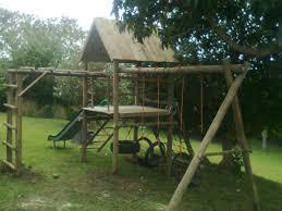 wooden range playground world