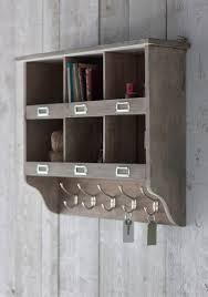 wall mounted shelf unit with drawers