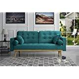 amazon com green sofas u0026 couches living room furniture home