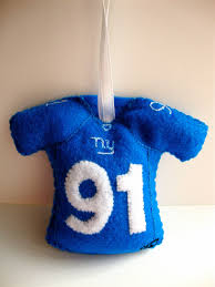 football jersey felt ornament i u0027m always looking for christmas
