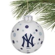 new york yankees ornament shatterproof backorder