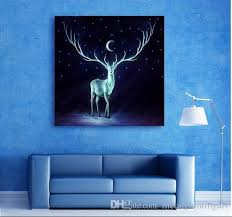 2017 led lights wall canvas spray painting light up stretched