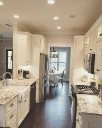 galley kitchens with islands galley kitchens kitchen open to living room small ideas cost