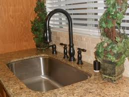 faucet bronze kitchen faucet with stainless sink within dark