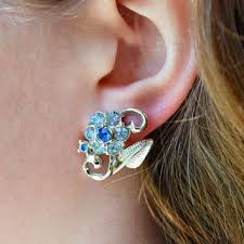 back earrings shop vintage coro back earrings on wanelo