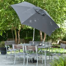Coolaroo Umbrella Review by Coolaroo 10 Ft Round Offset Cantilever Patio Umbrella Hayneedle