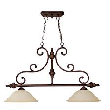 capital lighting chandler collection 2 light burnished bronze