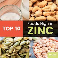 top 10 foods high in zinc zinc benefits u0026 zinc foods recipes dr
