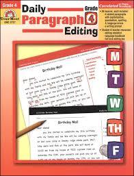 daily paragraph editing grade 4 026375 details rainbow