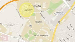 Uva Map Directions Contact Uva Forward U Va