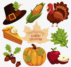 thanksgiving material thanksgiving decoration vector material thanksgiving