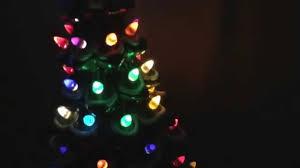 light up ceramic xmas tree youtube