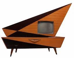 mid century console cabinet mid century masterpiece kuba komet television console brings 3 250
