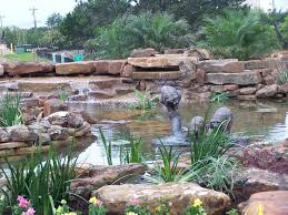 Waterfall Ideas For Backyard Pond And Waterfall Pictures Gallery Landscaping Network