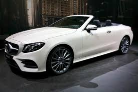 mercedes e class 2017 mercedes e class cabriolet prices and specs revealed