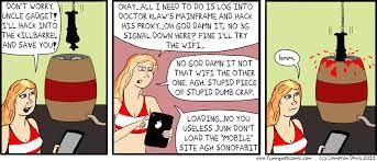 inspector gadget unleashed penny drops signal funny comic